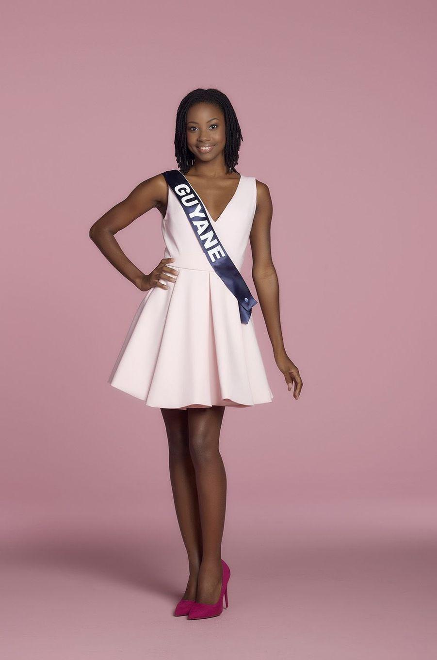 Ruth Briquet, Miss Guyane.