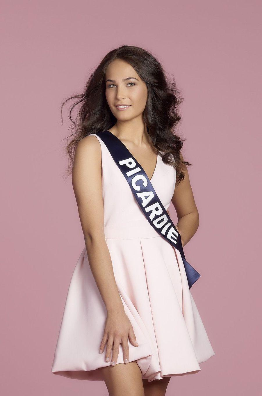 Paoulina Prylutska, Miss Picardie.