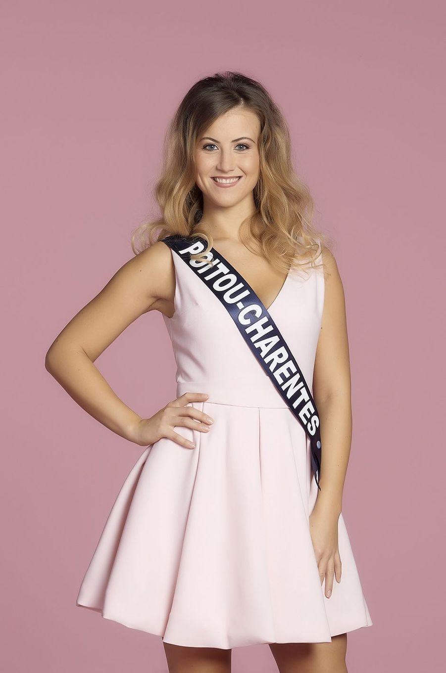 Ophélie Forgit, Miss Poitou-Charentes.