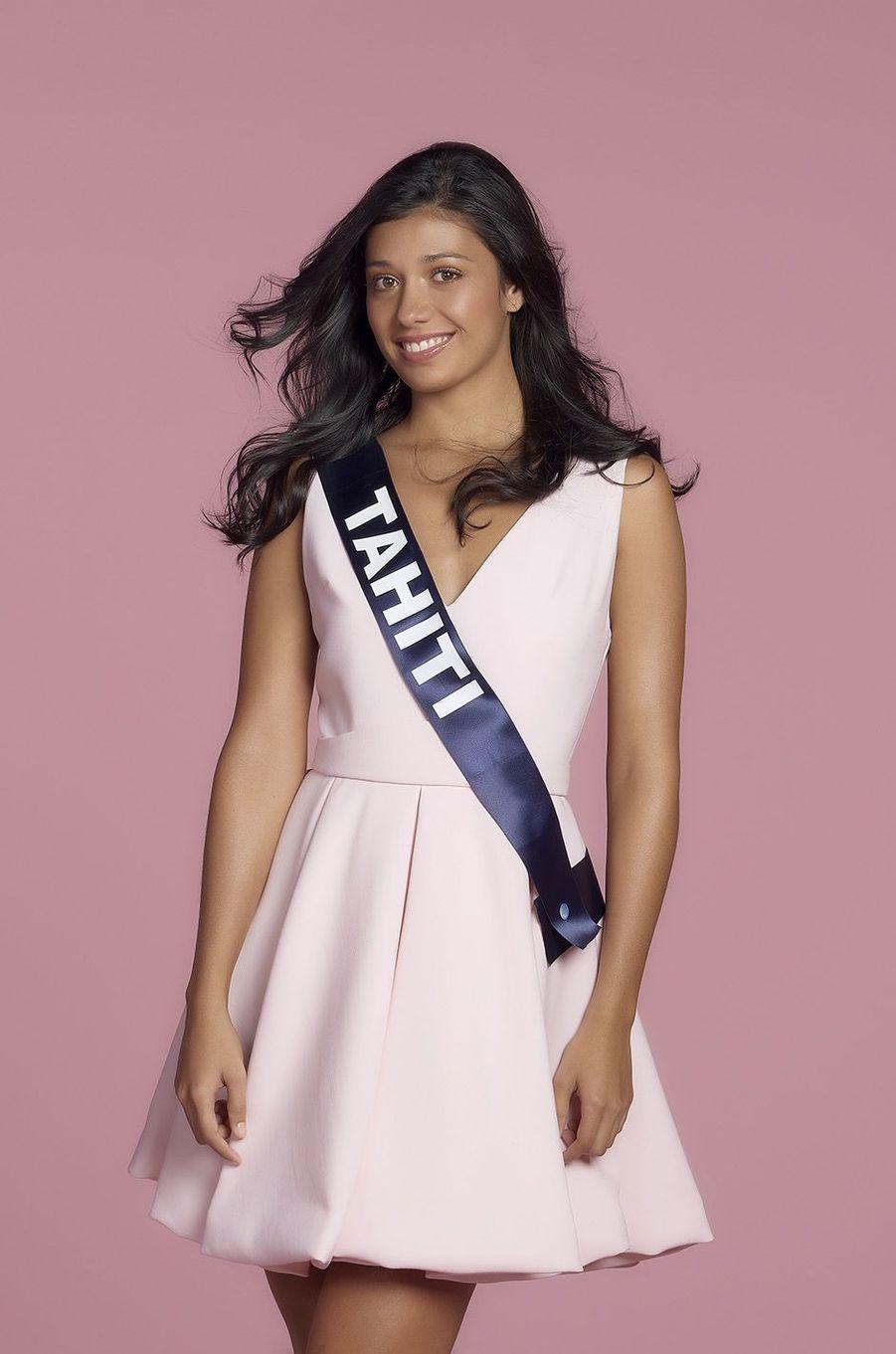 Turouru Temorere, Miss Tahiti.