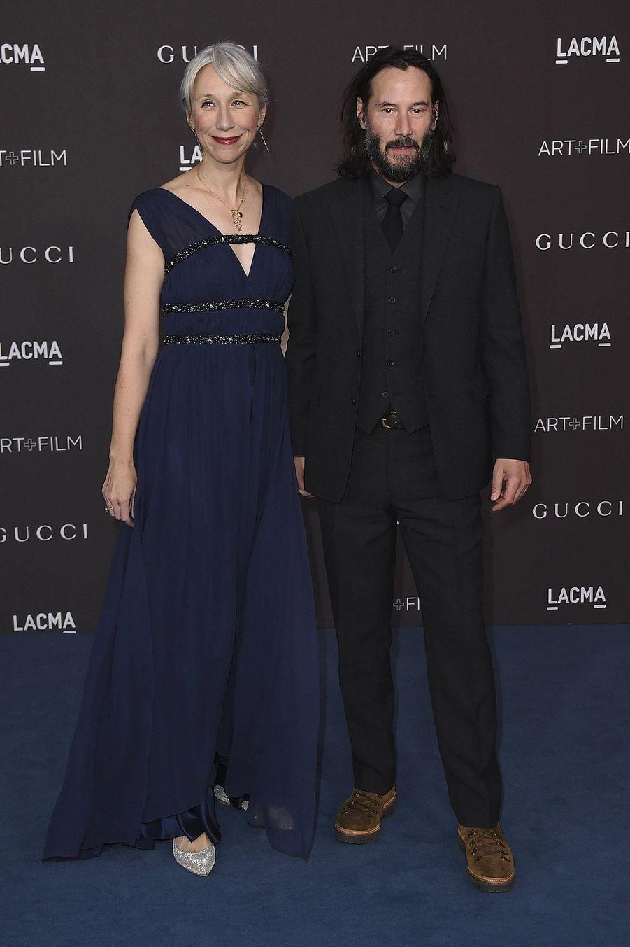 Keanu Reeves et Alexandra Grant