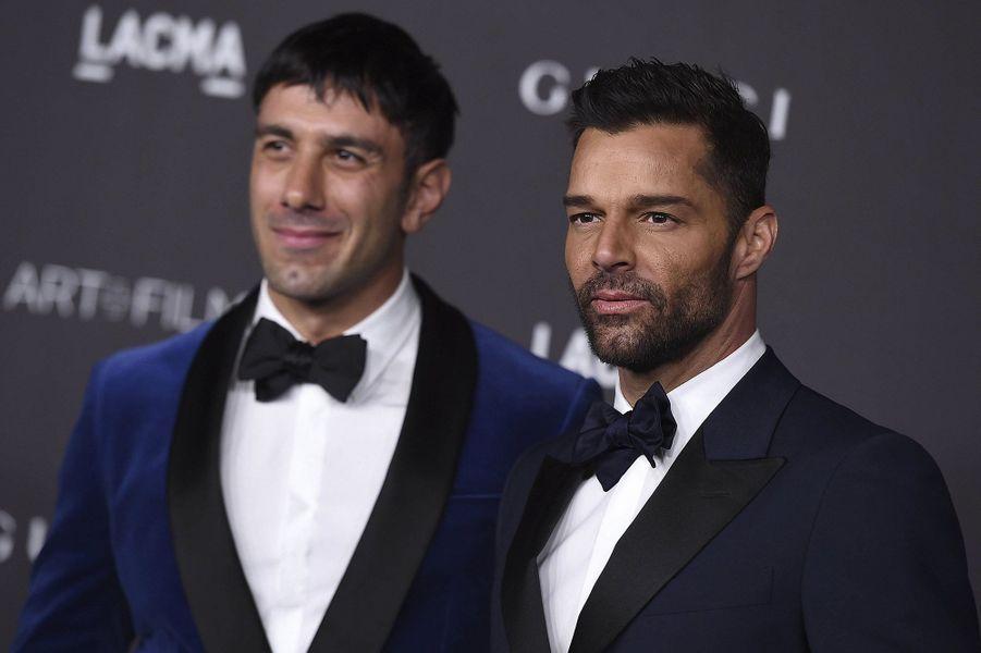 Ricky Martin (droite) et Jwan Yosef