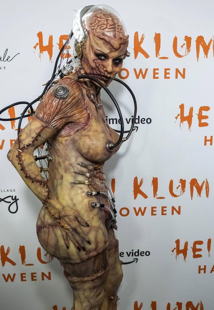 Heidi Klum à sa soirée d'Halloween, jeudi 31 octobre, à New York