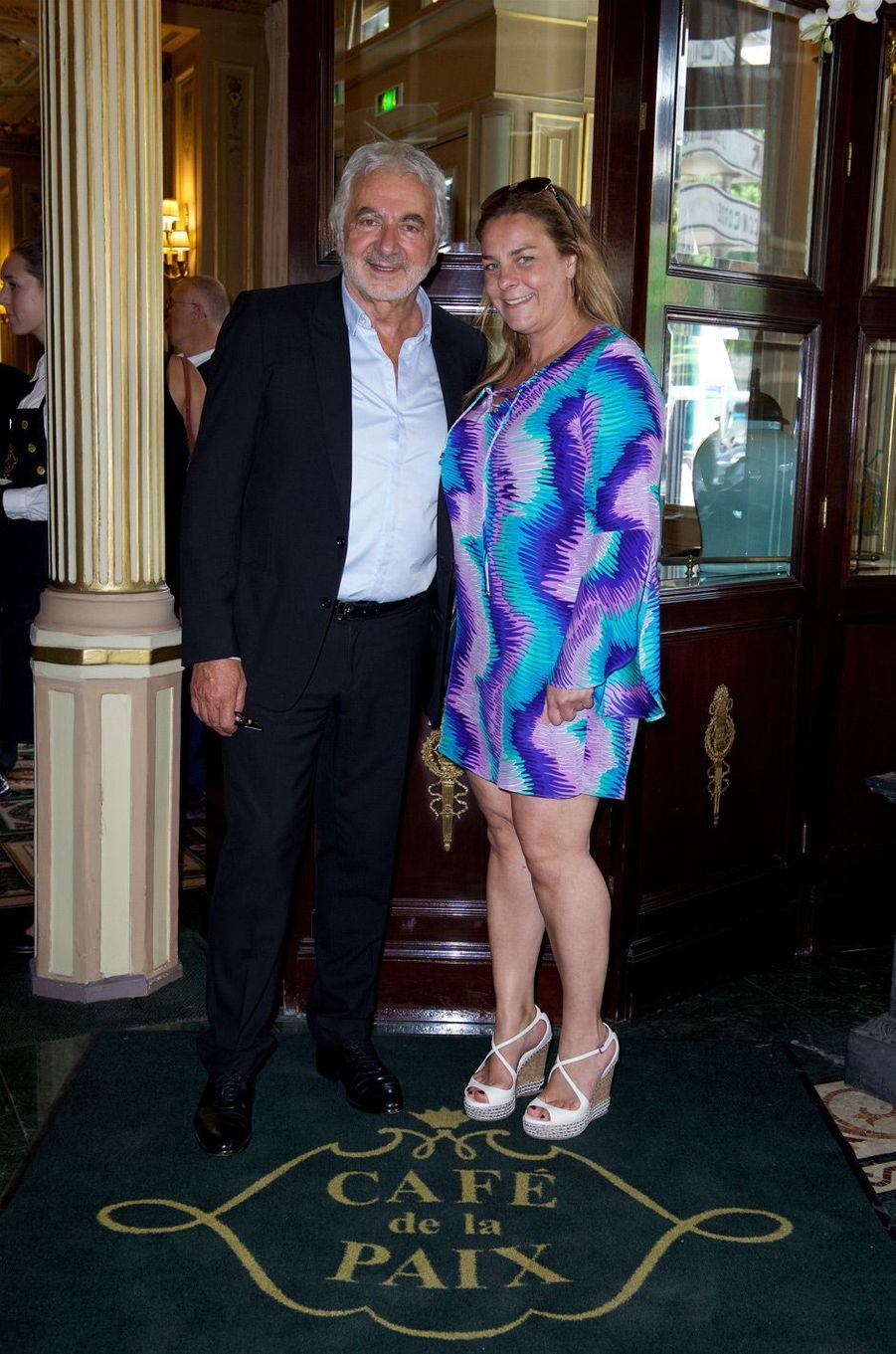 Franck Provost et sa fille Olivia.