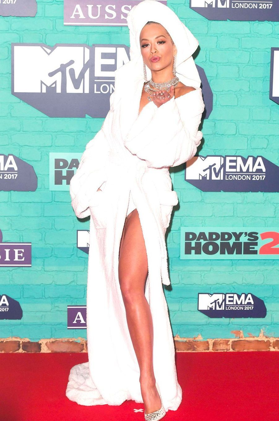 Rita Ora aux MTV Europe Music Awards dimanche 12 novembre, à Londres