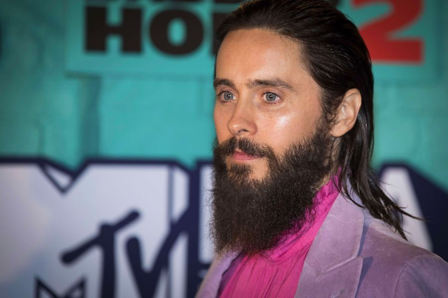 Jared Leto aux MTV Europe Music Awards dimanche 12 novembre, à Londres