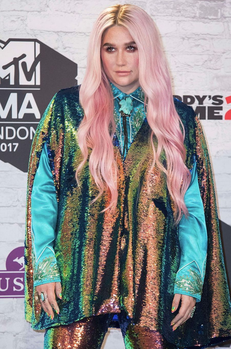 Kesha aux MTV Europe Music Awards dimanche 12 novembre, à Londres