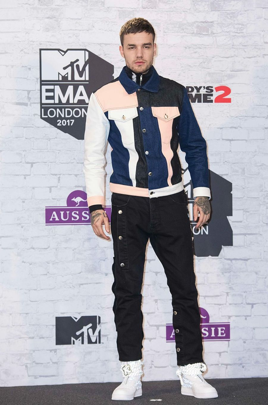 Liam Payne aux MTV Europe Music Awards dimanche 12 novembre, à Londres
