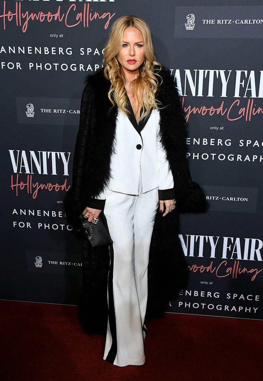 Rachel Zoelors del'inauguration de l'exposition «Vanity Fair : Hollywood Calling»à Los Angeles le 4 février 2020.