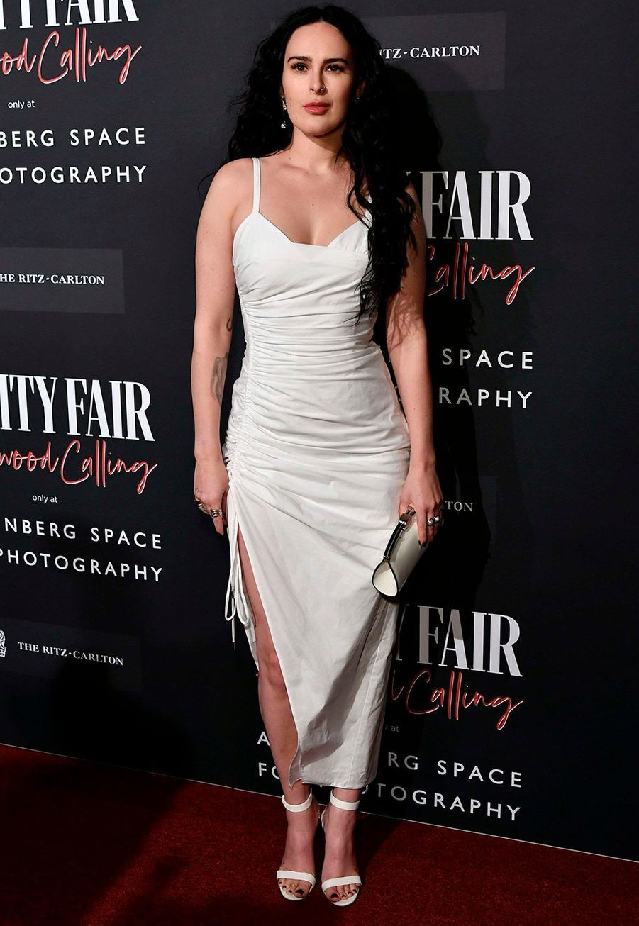 Rumer Willis lors de l'inauguration de l'exposition «Vanity Fair : Hollywood Calling» à Los Angeles le 4 février 2020.