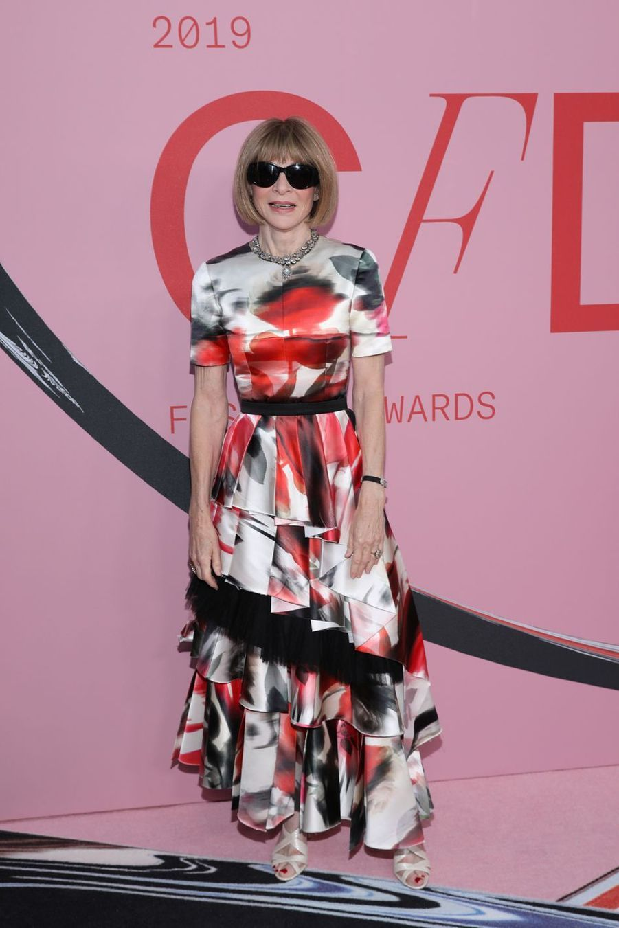 Anna Wintour à New York, le 3 juin 2019