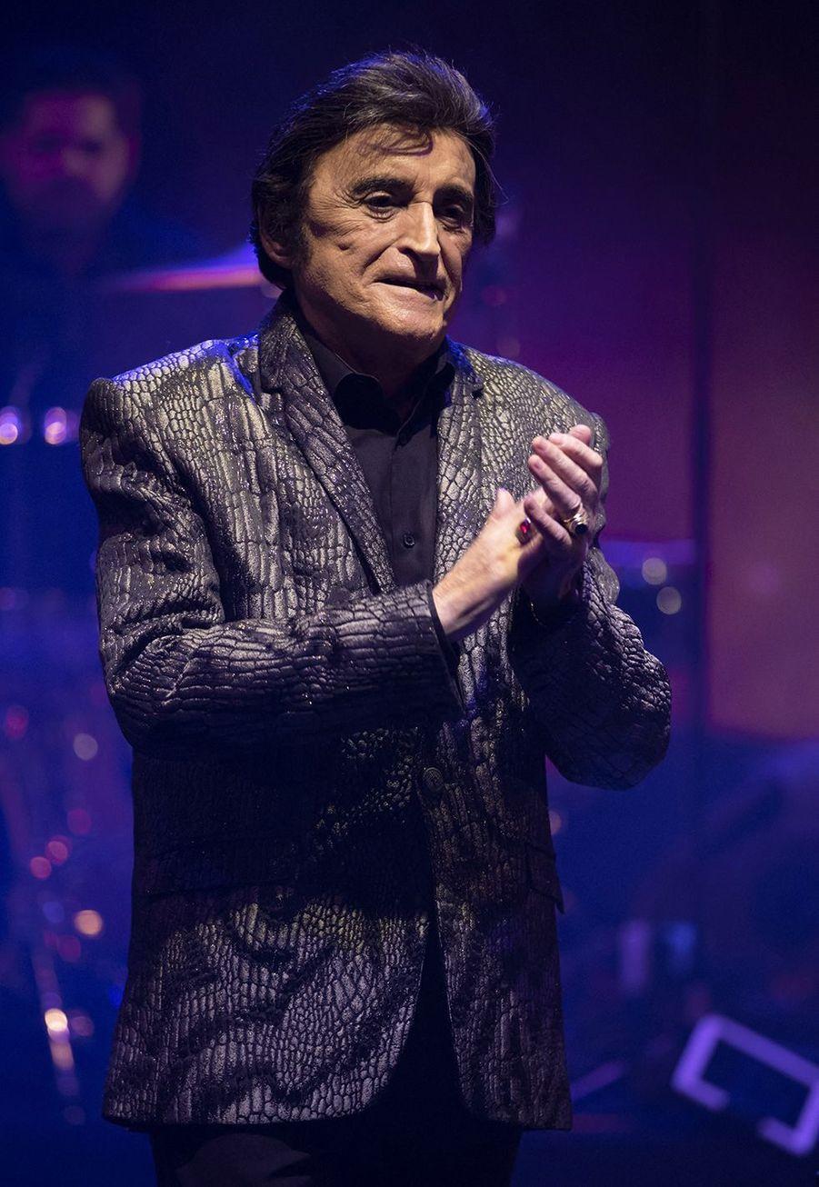 Dick Rivers en concert à Nice en octobre 2018