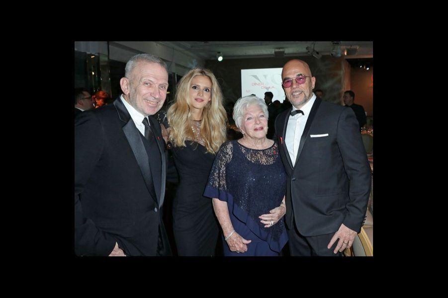 Jean Paul Gaultier, Julie Hantson, Line Renaud, Pascal Obispo.