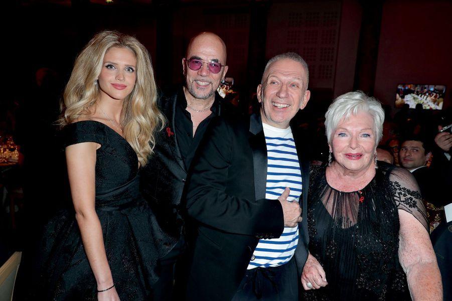 Julie Hantson et Pascal Obispo, Jean-Paul Gaultier, Line Renaud.