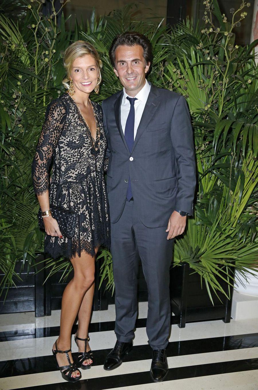 Olivia et Alexandre de Rothschild.