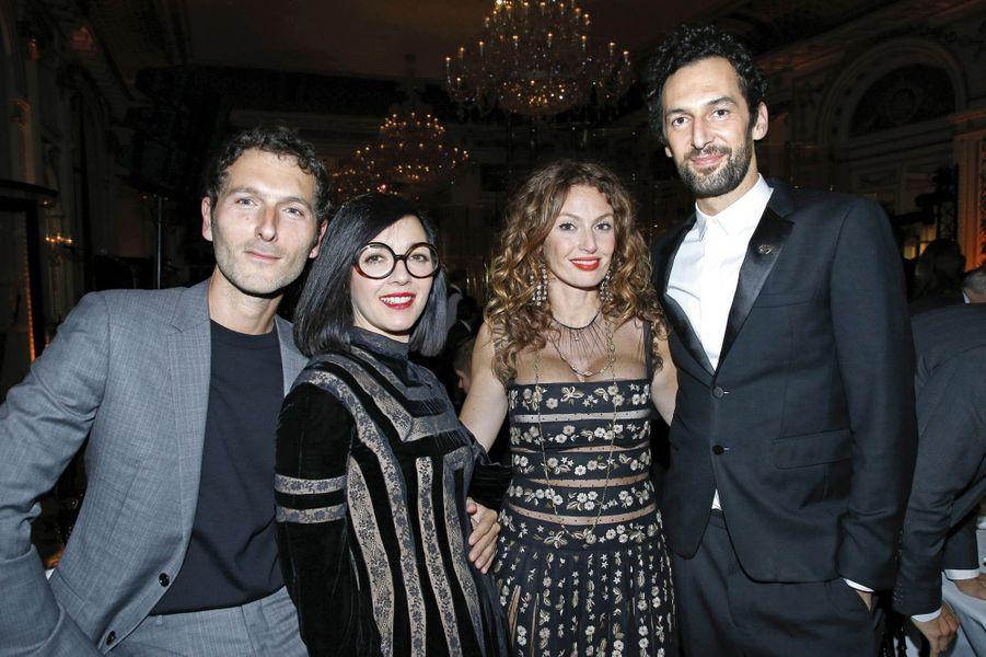 Simon Buret, Sylvie Hoarau, Aurélie Saada, Olivier Coursier.