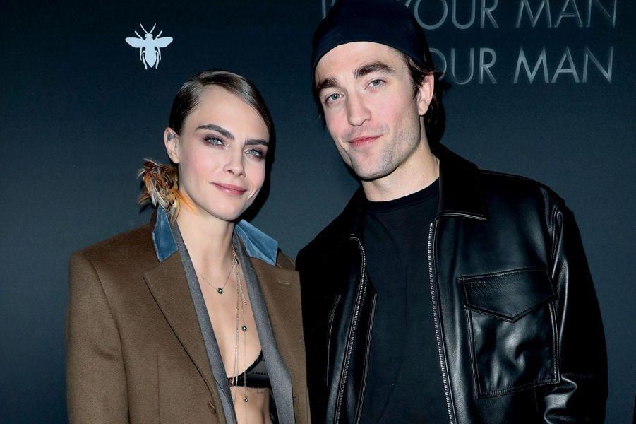 Cara Delevingne, Robert Pattinson.