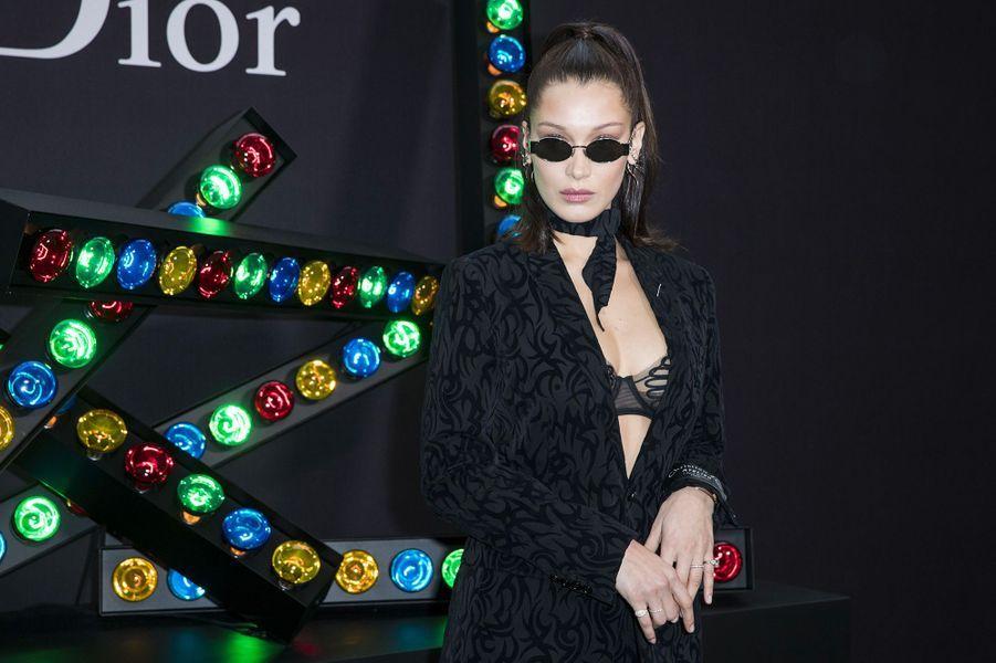 Bella Hadid au défilé Dior