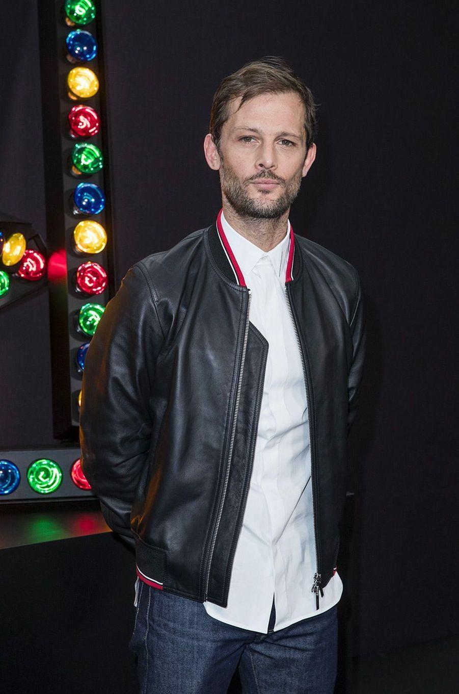 Nicolas Duvauchelle au défilé Dior