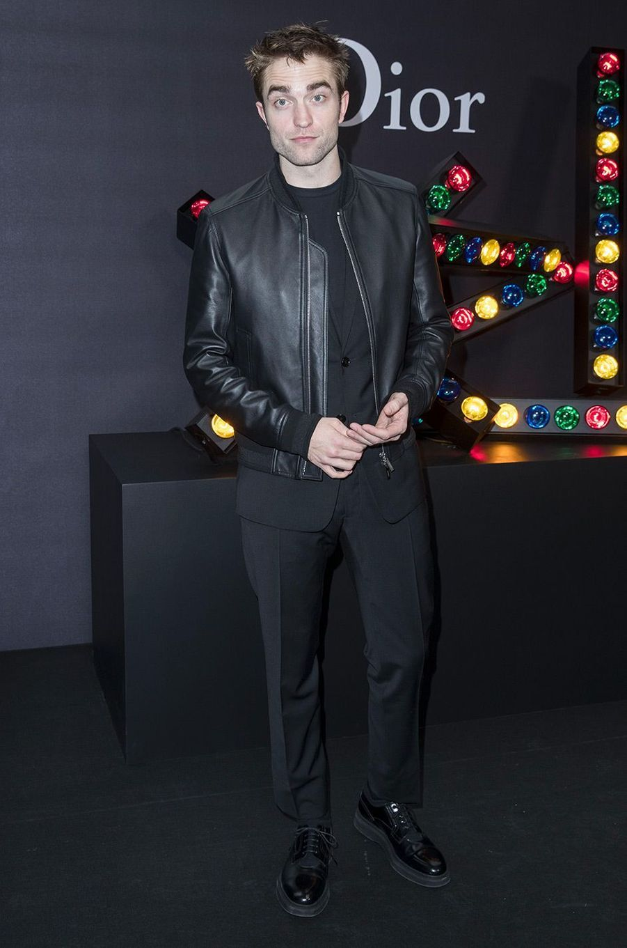 Robert Pattinson au défilé Dior