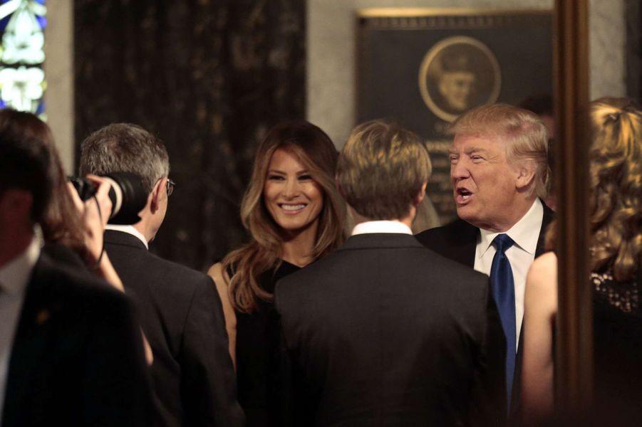 Donald et Melania Trump en 2016.