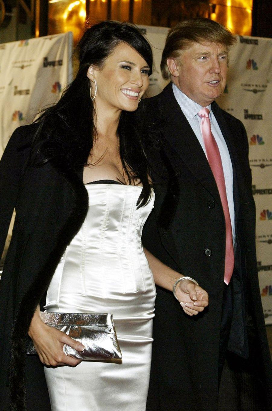 Donald et Melania Trump, un couple de pouvoir
