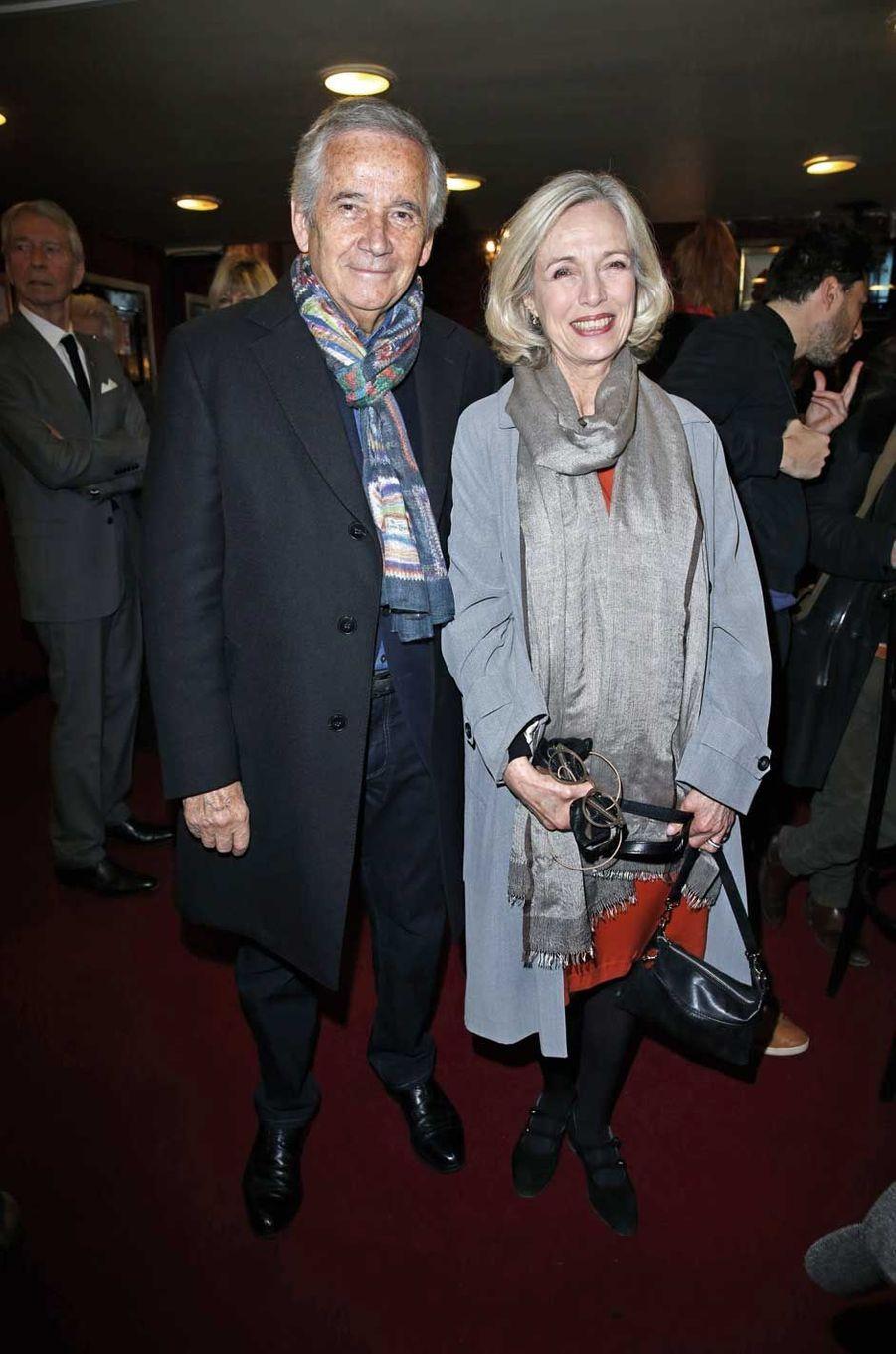 Alain Doutey et Arielle Séménoff.