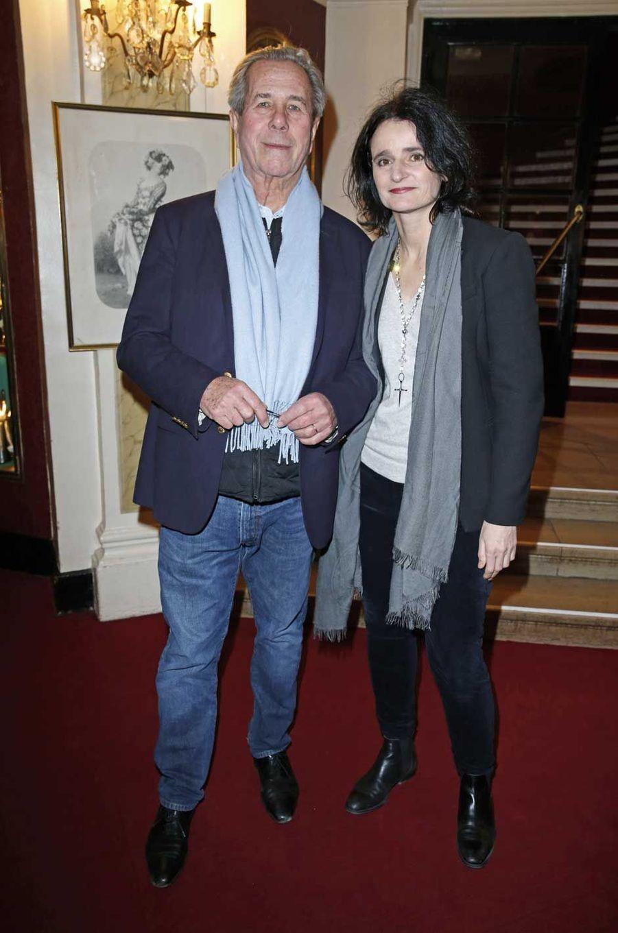 Jean-Louis Debré et Valérie Bochenek.