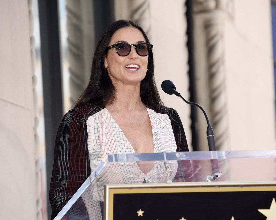 Demi Moore à Hollywood le 1er mai 2019