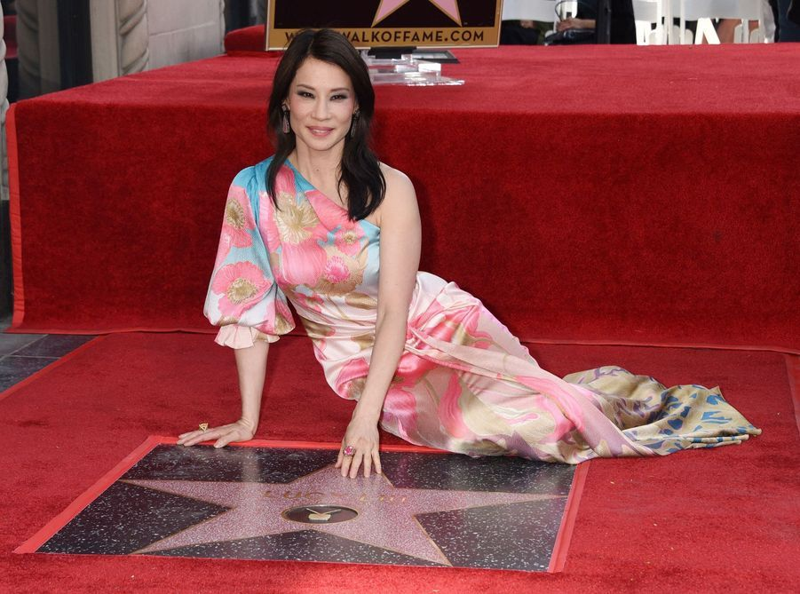 Lucy Liu à Hollywood le 1er mai 2019