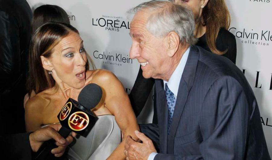 Sarah Jessica Parker, au côté de Garry Marshall, a été honorée au 19e Women in Hollywood, le dîner annuel organisé par le magazine Elle, à Beverly Hills en Californie.