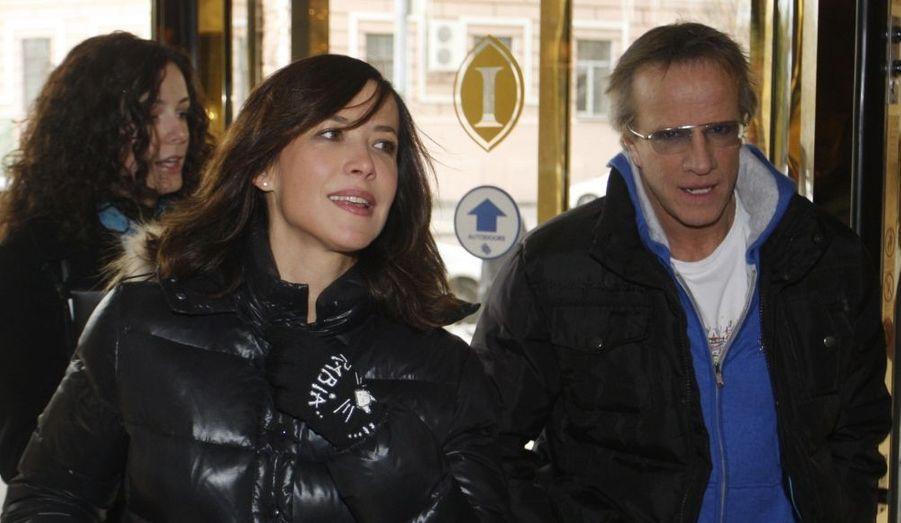 Sophie Marceau et Christophe Lambert sont en Ukraine, afin de participer au Festival international du film de Kiev.