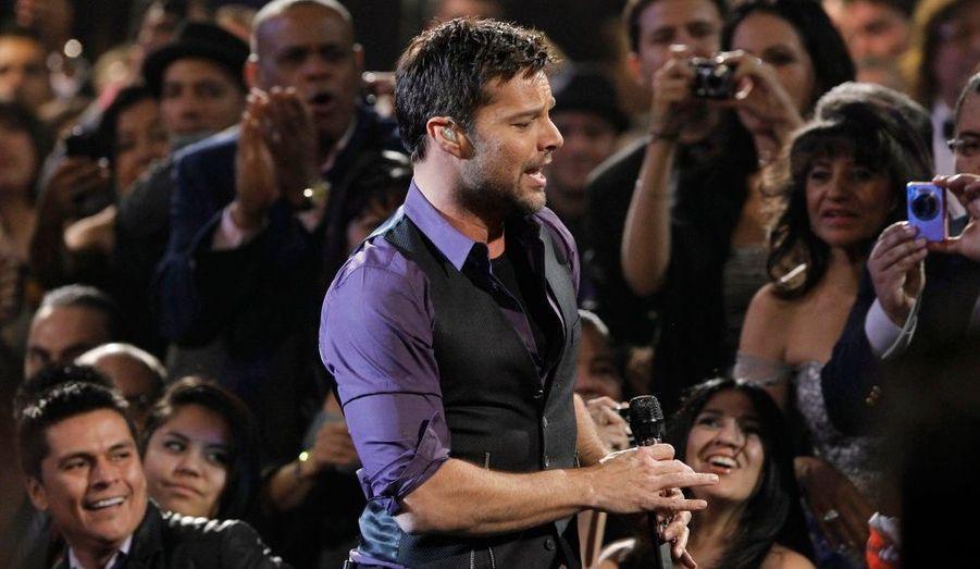 Ricky Martin, à la 11ème cérémonie des Latin Grammy Awards à Las Vegas.