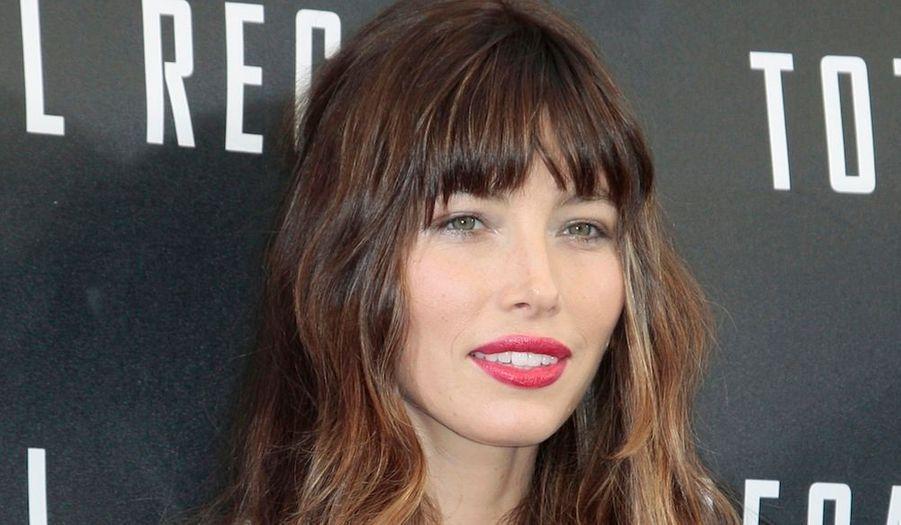 """Jessica Biel attend un photo call pour le film """"Total Recall"""" au Four Seasons de Beverly Hills. L'actrice partagera l'affiche avecColin Farrell et Kate Beckinsale. Dans nos salles le 15 août."""