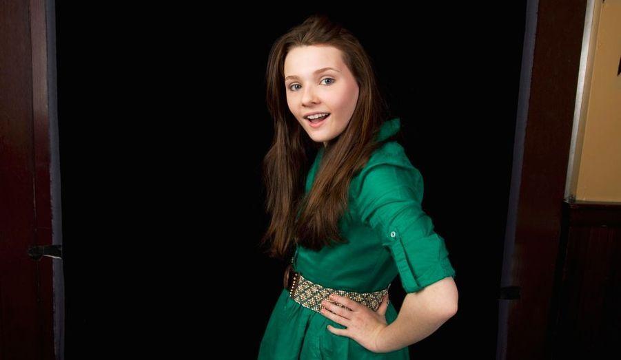 A seulement 13 ans, Abigail Breslin est déjà une star à part entière. elle s'est fait connaître en 2002 dans Signes, et a joué dans de nombreux autres films et séries tels que Little Miss Sunshine, L'Ile de Nim, ou encore Grey's Anatomy. Elle pose ici pour un portrait à New York.