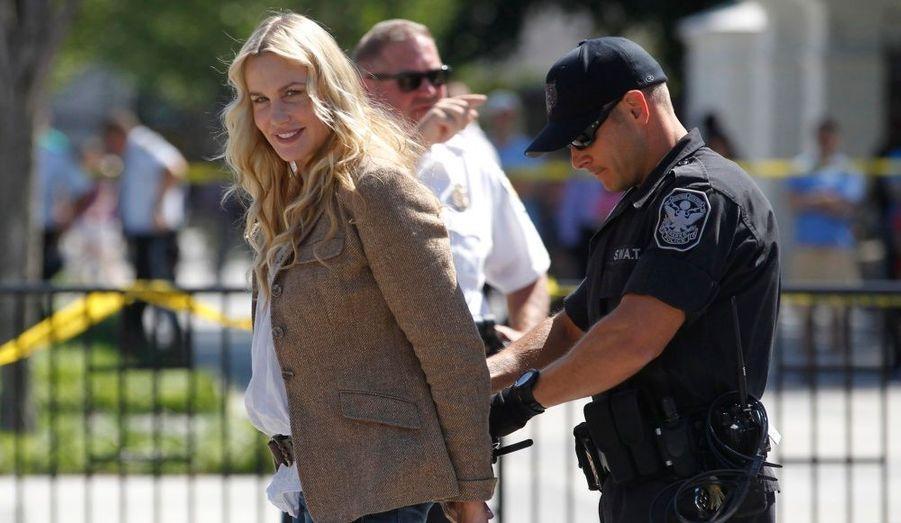 L'actrice, connue pour ses engagements en faveur de l'écologie, a été arrêtée à Washington mardi, lors d'un sit-in en face de la Maison Blanche. Elle protestait contre un nouveau projet de pipeline transportant du pétrole du Canada au Golfe du Mexique.