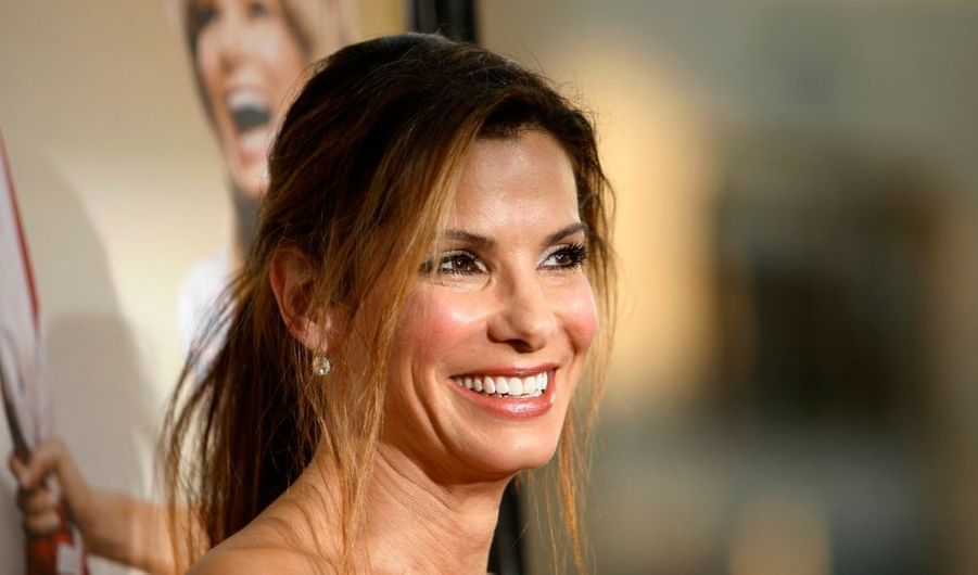Sandra Bullock à la première hollywoodienne de son nouveau film, All About Steve, avec Bradley Cooper (Very Bad Trip). Dans nos salles le 4 septembre.