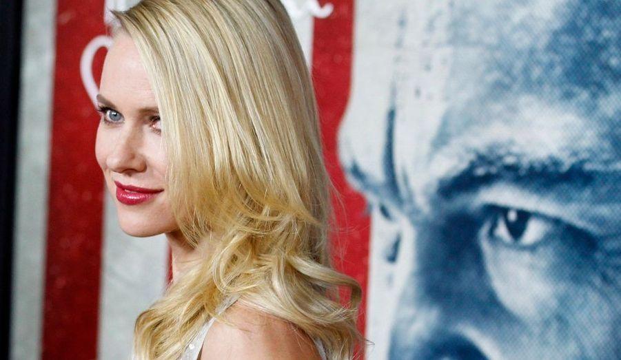 """Naomi Watts, à la première de """"J. Edgar"""", le dernier film de Clint Eastwood, consacré au célèbre patron du FBI Hoover."""