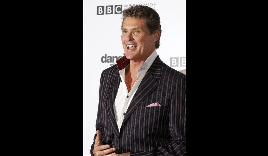 David Hasselhoff, au gala organisé pour fêter le 200ème épisode de l'émission musicale Dancing with the Stars à Hollywood.