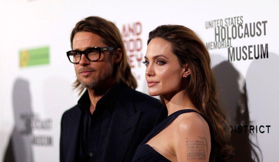 Angelina Jolie et Brad Pitt ont assisté à l'avant-première du film Au Pays du Sang et du Miel à Los Angeles.