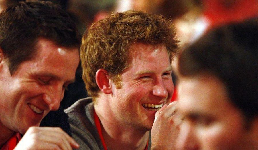 Le Prince Harry a assisté ce week-end au championnat du monde de fléchettes, qui se déroulait à Londres.