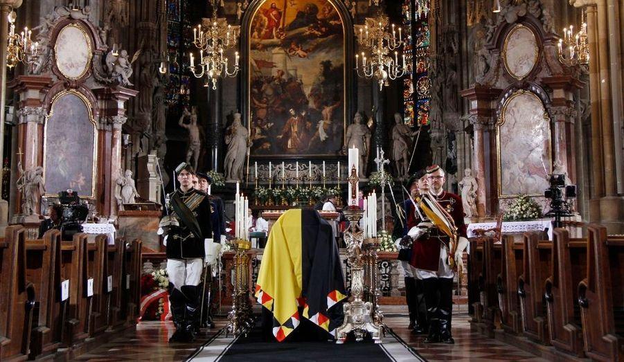 Samedi, à Vienne, se sont déroulées les funérailles d'Otto Habsbourg, héritier du dernier empereur d'Autriche-Hongrie, décédé le 4 juillet dernier à 98 ans.