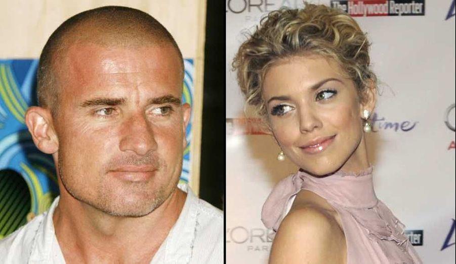 AnnaLynne McCord, de Beverly Hills 90210, et Dominic Purcell, de Prison Break, sont bel et bien ensemble. Un mois après avoir été aperçus ensemble dans un lounge de Beverly Hills, la comédienne de 23 ans et son confrère de 18 ans son ainé ont cette fois été vus en train de passer du bon temps sur une plage de Los Angeles. Mardi, l'acteur de 41 ans est en effet venu retrouver sa douce qui était en plein tournage, et celle-ci lui a sauté dessus, folle de joie, rapporte Us Weekly. Rappelons que la jeune femme se remet d'une relation tumultueuse de deux ans avec Kellan Lutz (Twilight). Lui, était officiellement célibataire depuis son divorce d'avec Rebecca Williamsosn en 2007.