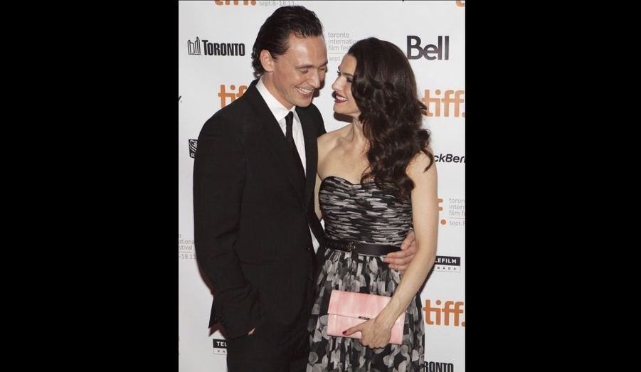 Rachel Weisz et Tom Hiddleston ont assisté à la projection de The Deep Blue Sea, lors du 36ème Festival du Film de Toronto.