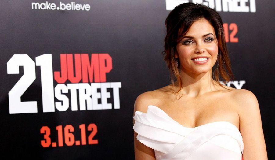 La comédienne Jenna Dewan-Tatum, épouse de l'acteur Channing Tatum, était à la première de «21 Jump Street» à Hollywood.