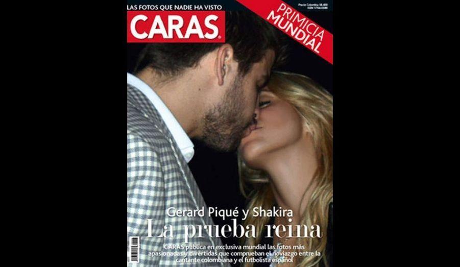 Après plus de six mois de rumeurs, la relation entre la chanteuse Shakira et le footballeur Gerard Piqué n'est plus un mystère. Et elle est même devenue quasiment officielle, depuis cette semaine et la parution en Une du magazine espagnol Caras d'une photo apparemment volée les montrant en train de s'embrasser tendrement…
