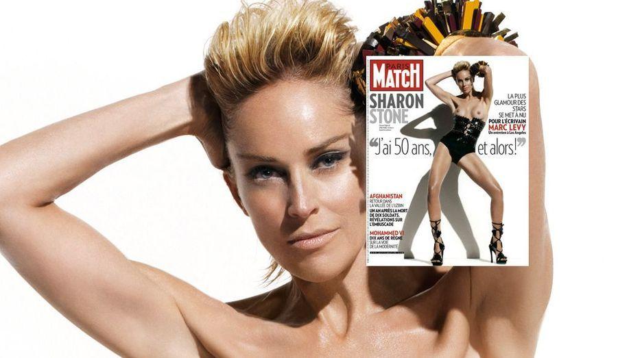 La plus glamour des stars se met à nu pour Marc Levy dans un entretien avec l'auteur le plus populaire de France