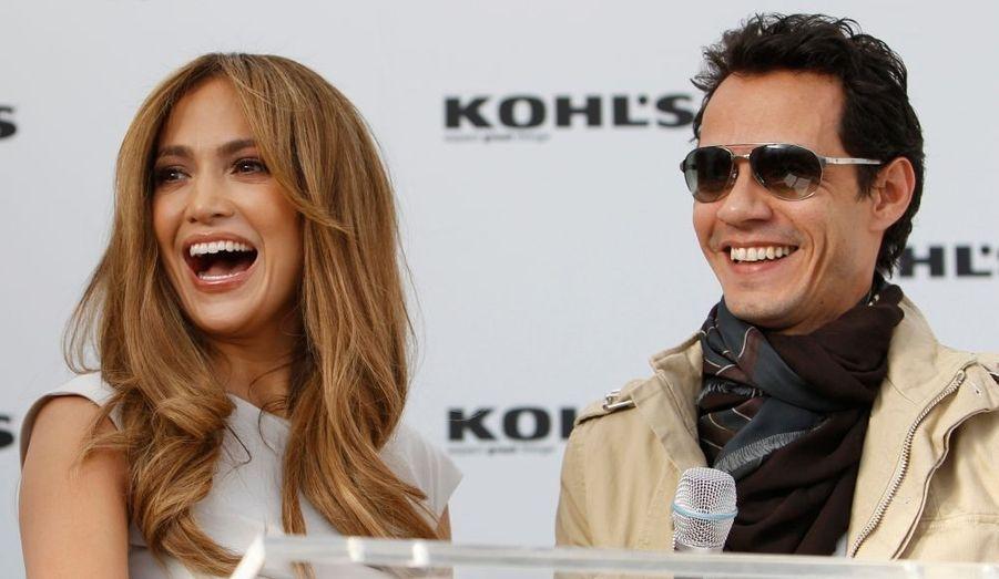 Jennifer Lopez et son mari Marc Anthony ont présenté à Los Angeles, The Jennifer Lopez and Marc Anthony collections en partenariat avec les magasins Kohl, à Hollywood.
