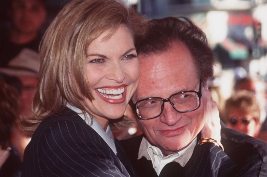 Shawn et Larry King en juin 1997