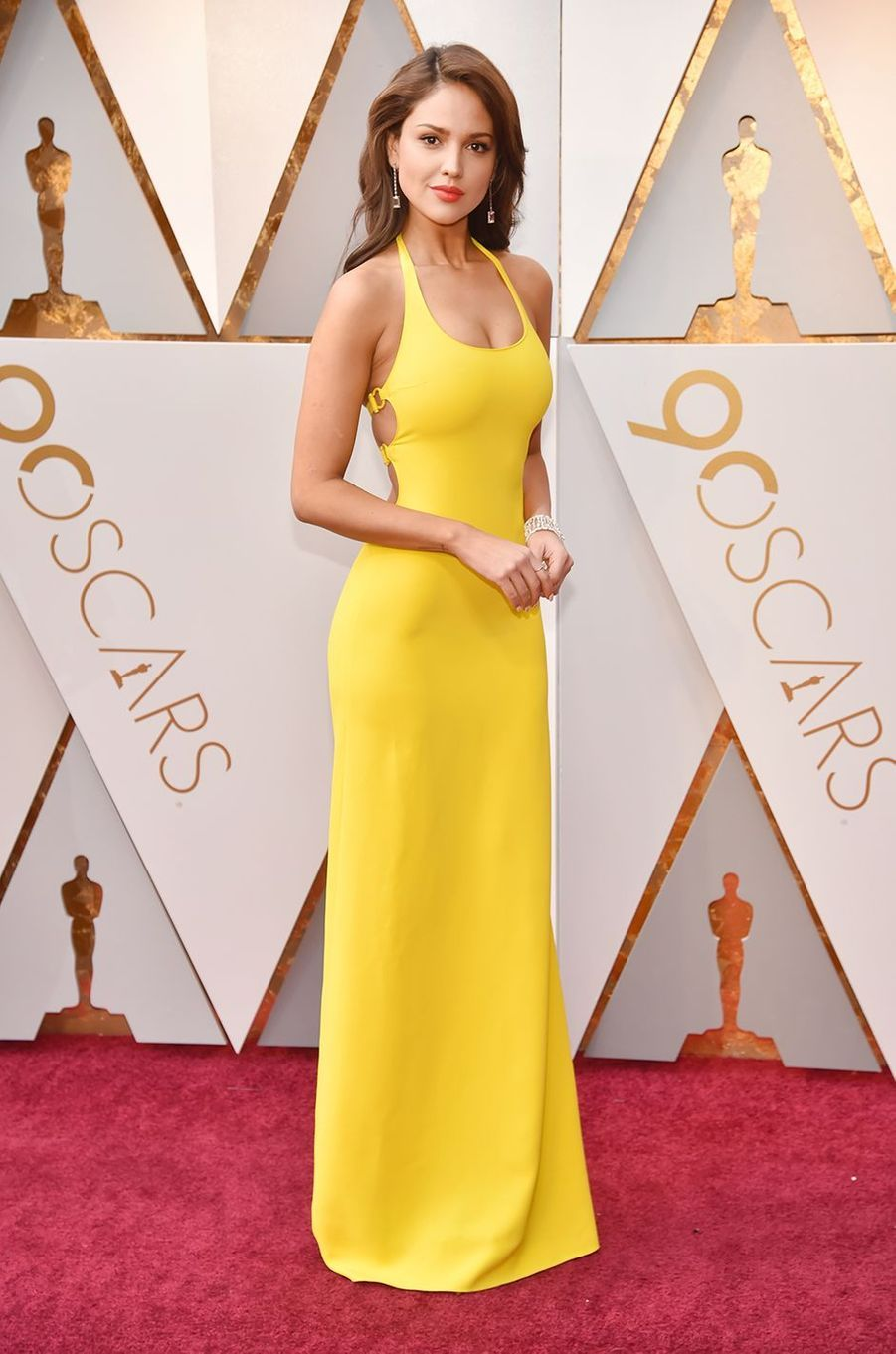 Eiza Gonzalez aux Oscars en mars 2018